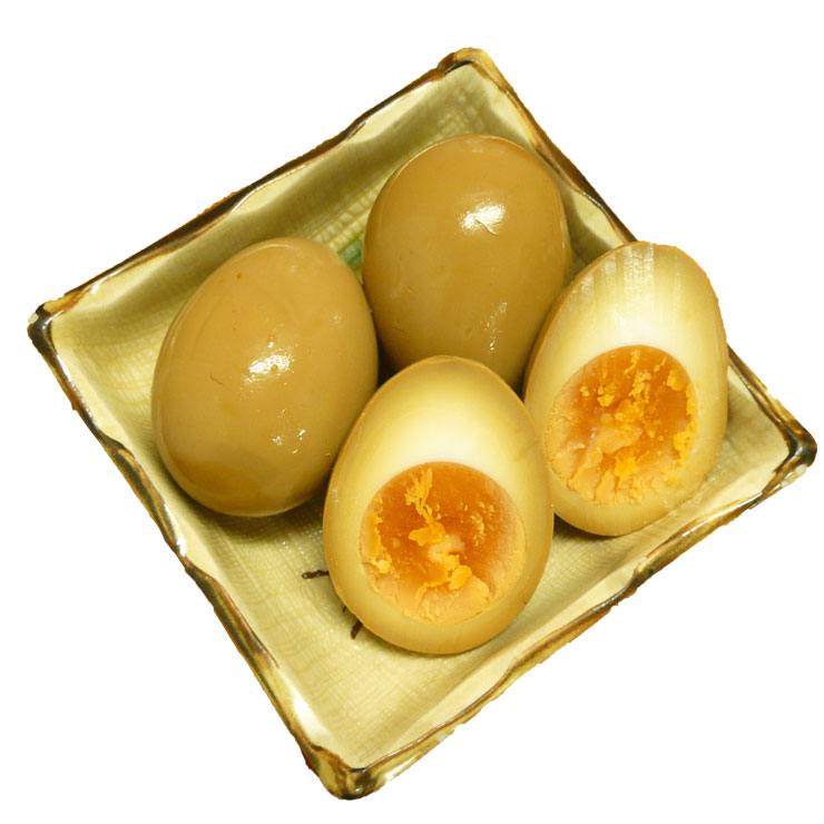 煮玉子(1コ)¥100-